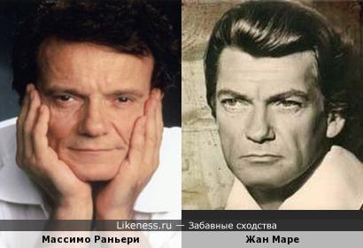 Итальянский певец (и много чего ещё) Массимо Раньери напомнил Жана Маре