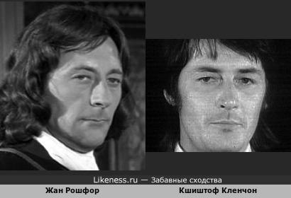 Кшиштоф Кленчон в более зрелом возрасте напомнил Жана Рошфора