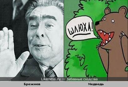 Леонид Ильич против Медведя