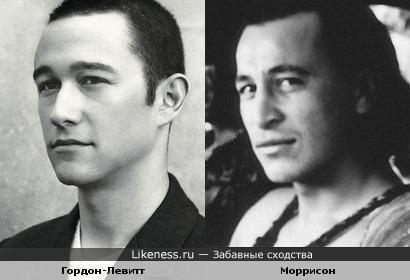 Джозеф Гордон-Левитт и Тамуэра Моррисон