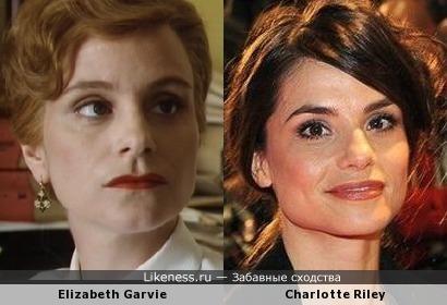 Elizabeth Garvie и Charlotte Riley