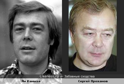 Ян Каныза похож на Сергея Проханова