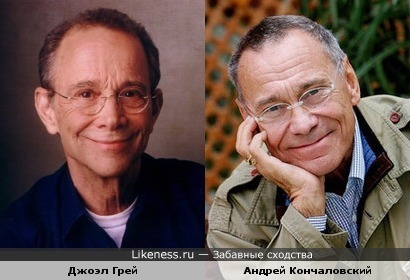 Джоэл Грей похож на Андрея Кончаловского