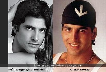 Рейнальдо Дженнекини и Акшай Кумар