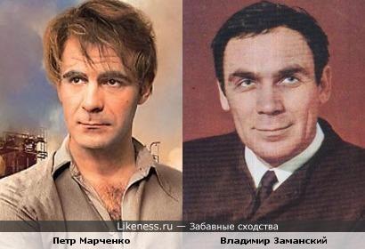 Петр Марченко в проекте Екатерины Рождественской похож на Владимира Заманского