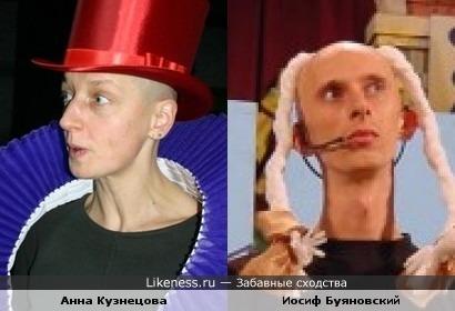 Анна Кузнецова похожа на Иосифа Буяновского