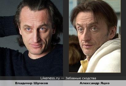 Владимир Шумков и Александр Яцко