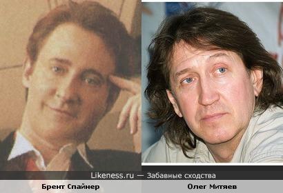 Брент Спайнер похож на Олега Митяева