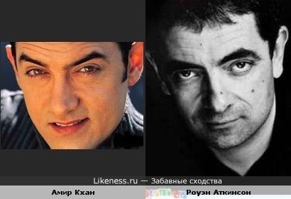 Амир Кхан похож на Роуэна Аткинсона
