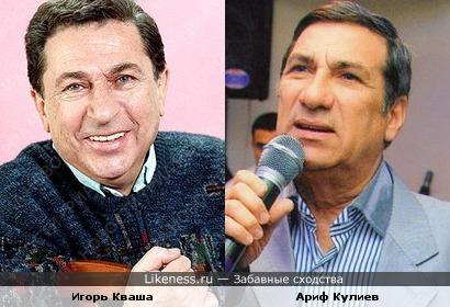 Ариф Кулиев похож на Игоря Квашу