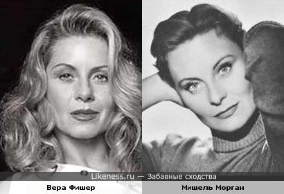 Вера Фишер похожа на Мишель Морган