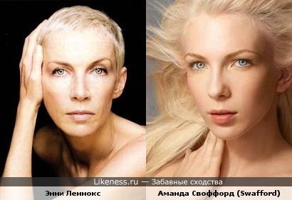 """Участница 3 сезона """"Топ модели по-американски"""" похожа на Энни Леннокс"""
