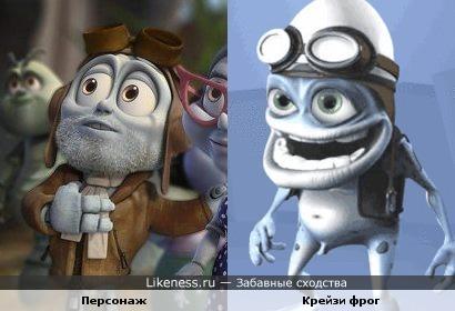 "Персонаж м/ф ""Махнем на Луну"" напомнил Crazy Frog'а"