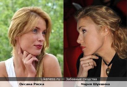 """Оксана Ряска (""""Дом-2"""") похожа на Марию Шукшину"""