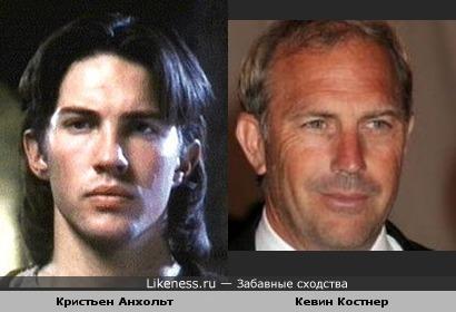 Кристьен Анхольт похож на Кевина Костнера