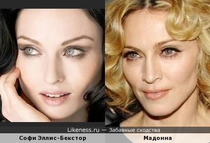 Софи Эллис-Бекстор напомнила Мадонну