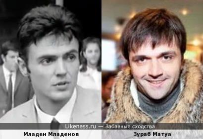 Младен Младенов и Зураб Матуа