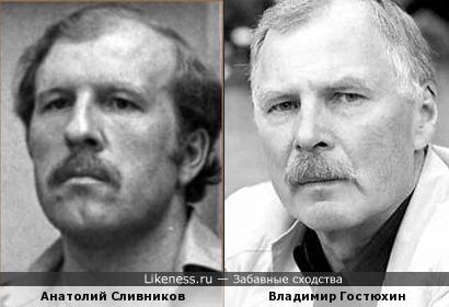 Анатолий Сливников напомнил Владимир Гостюхин