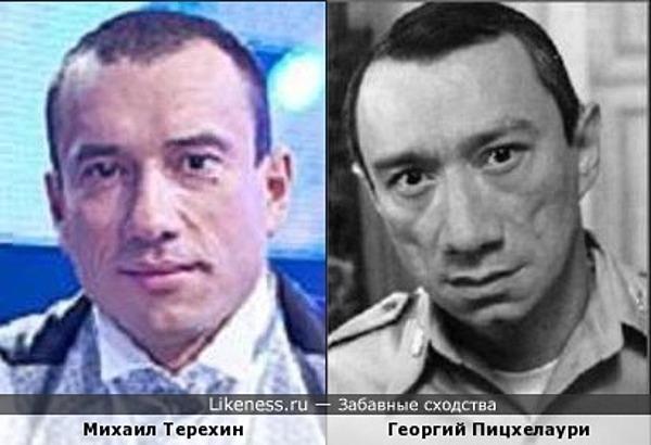 Михаил Терехин похож на Георгия Пицхелаури