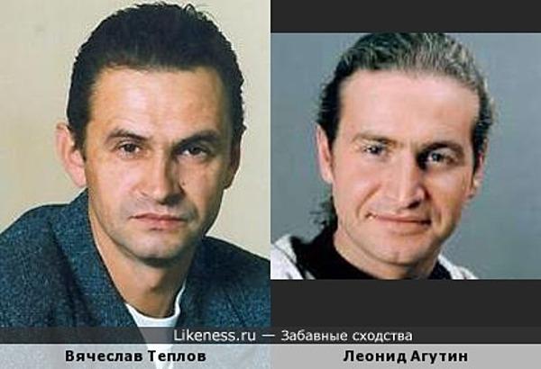 Вячеслав Теплов и Леонид Агутин
