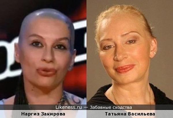 Наргиз Закирова из шоу Голос напомнила Татьяну Васильеву