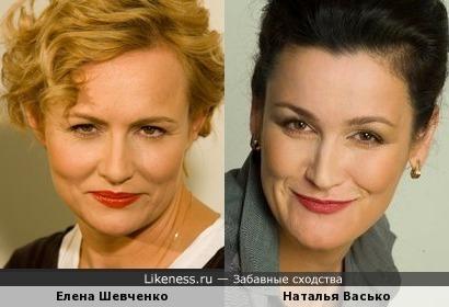 Елена Шевченко и Наталья Васько