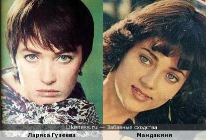Лариса Гузеева и Мандакини