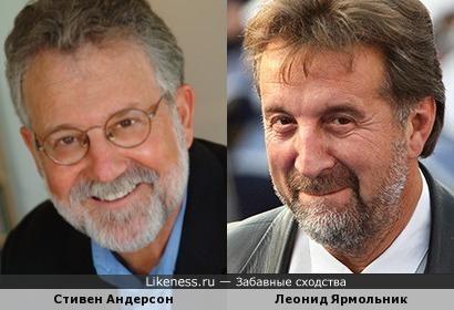 Стивен Андерсон напомнил Леонида Ярмольника