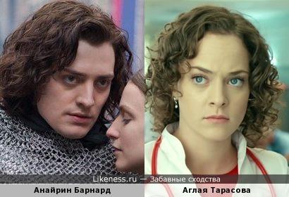 Анайрин Барнард напомнил Аглаю Тарасову