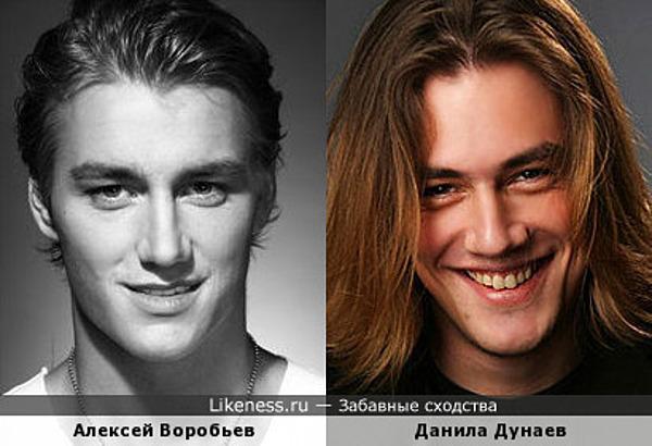 Алексей Воробьев и Данила Дунаев