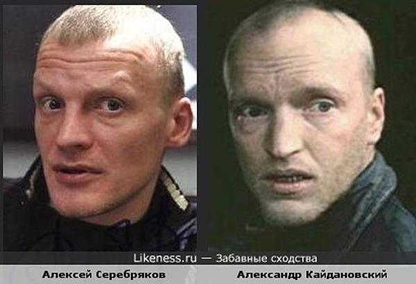 Алексей Серебряков похож на Александра Кайдановского