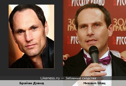 Брайан Дэвид похож на Михаила Шаца