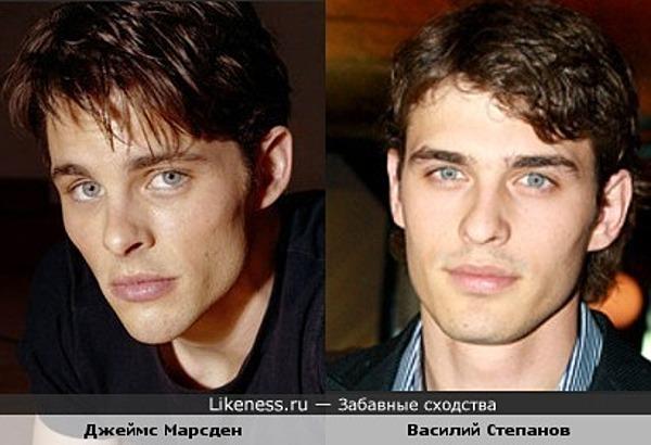 Джеймс Марсден похож на Василия Степанова