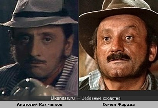 Анатолий Калмыков похож на Семена Фараду