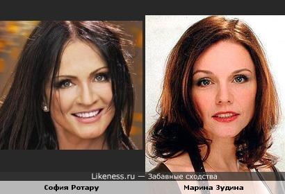 София Ротару и Марина Зудина