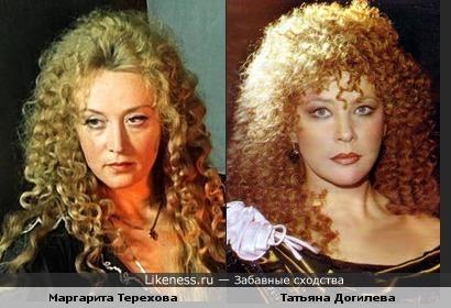 Актрисы Маргарита Терехова и Татьяна Догилева