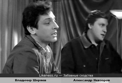 Владимир Ширяев и Александр Невзоров