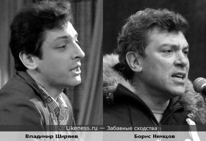 Владимир Ширяев и Борис Немцов