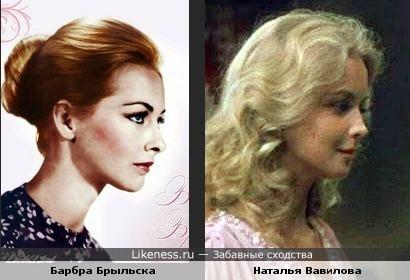 Актрисы Барбра Брыльска и Наталья Вавилова