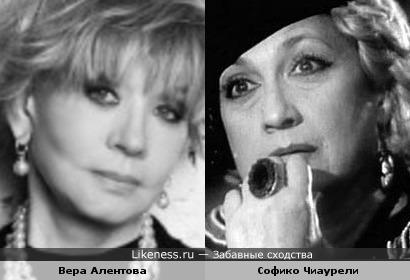Актрисы Вера Алентова и Софико Чиаурели