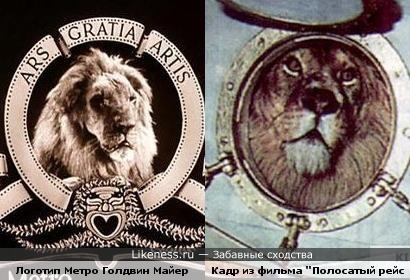 Лев в круге