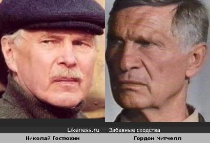 Актеры Николай Гостюхин и Гордон Митчелл