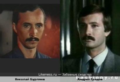 Актеры Николай Бурляев и Андрей Градов