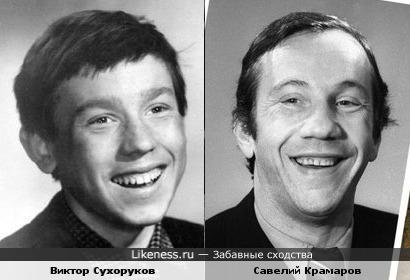 Актеры Виктор Сухоруков и Савелий Крамаров