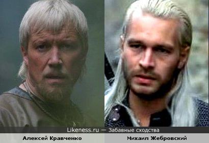 Актеры Алексей Кравченко и Михаил Жебровский