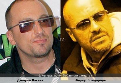 Дмитрий Нагиев и Федор Бондарчук