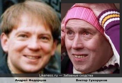 Актеры Андрей Федорцов и Виктор Сухоруков