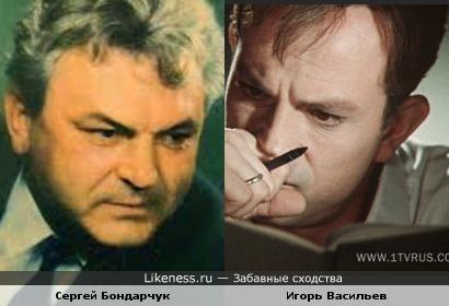 Игорь Васильев в таком ракурсе напоминает Сергея Бондарчука