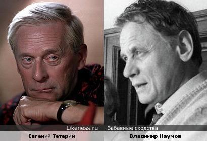 Евгений Тетерин и Владимир Наумов похожи