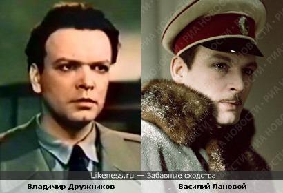 Владимир Дружников и Василий Лановой
